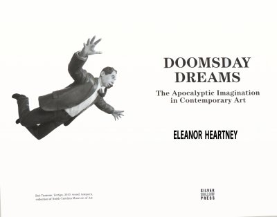 The title page of Eleanor Heartney's new book.